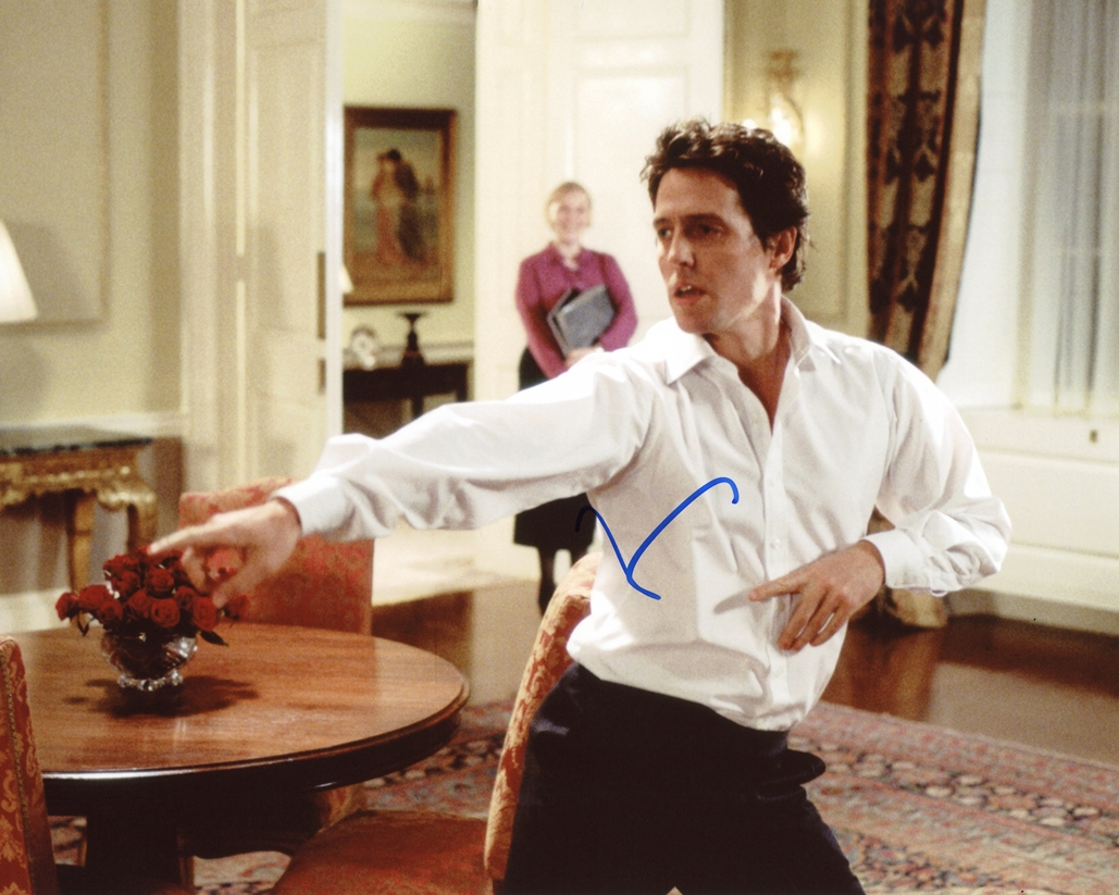 Hugh Grant Signed Photo