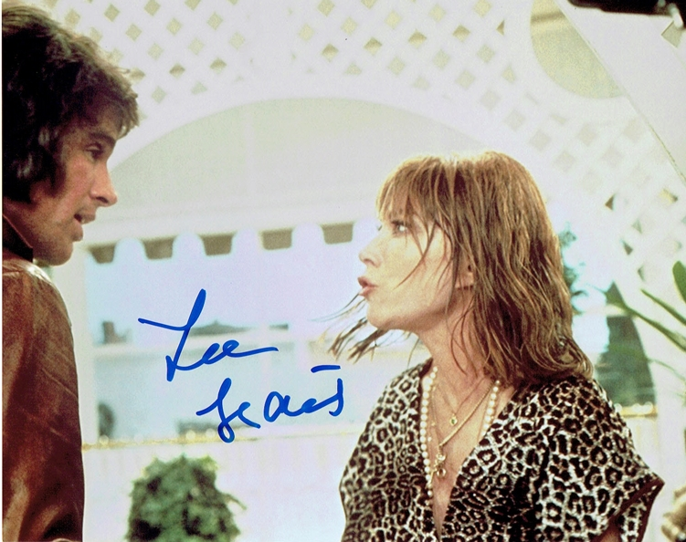 Lee Grant Signed Photo