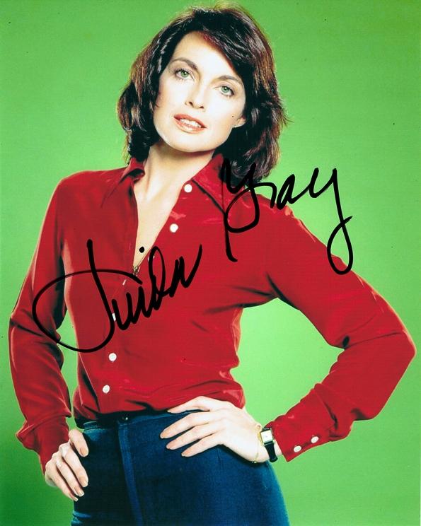 Linda Gray Signed Photo