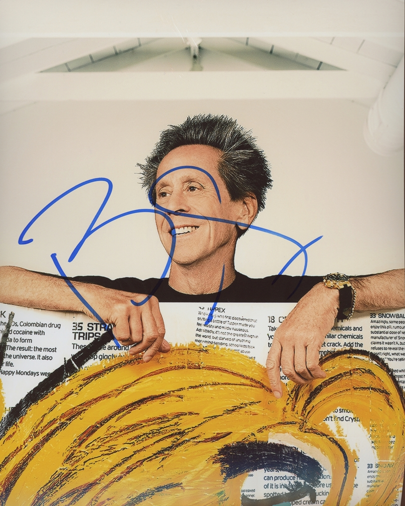 Brian Grazer Signed Photo