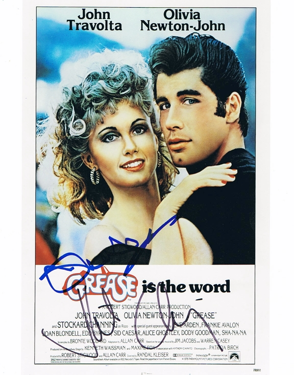 Grease Signed Photo