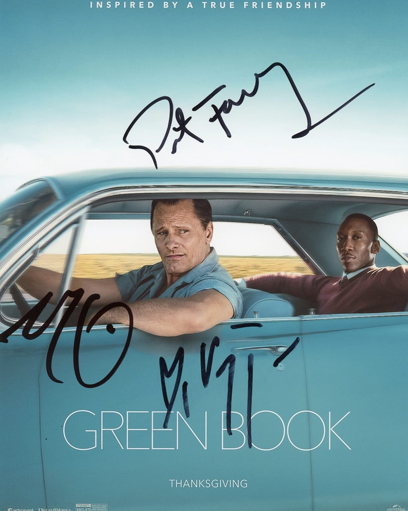 Green Book Signed Photo