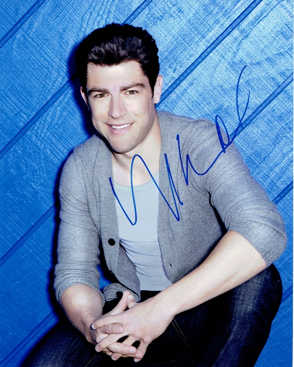 Max Greenfield Signed Photo