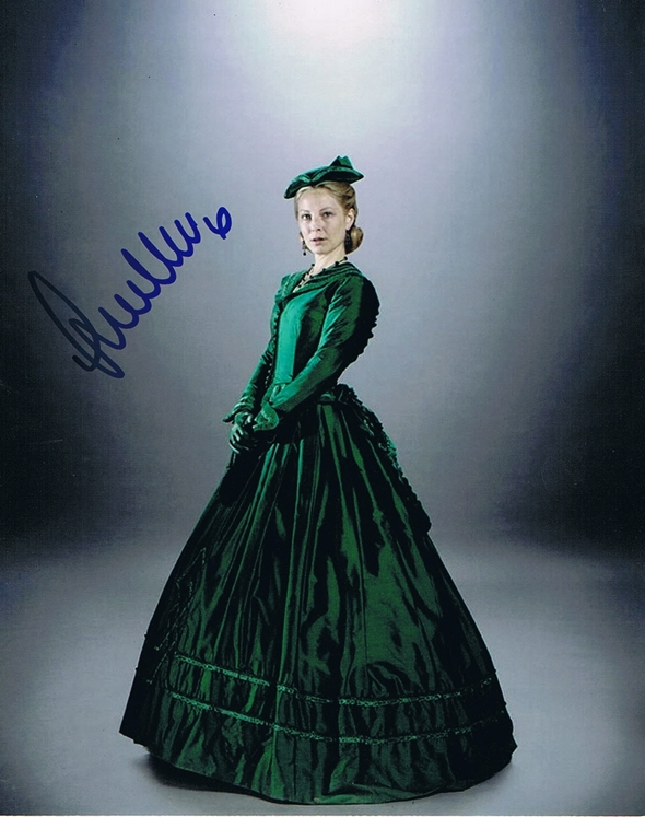 Anastasia Griffith Signed Photo