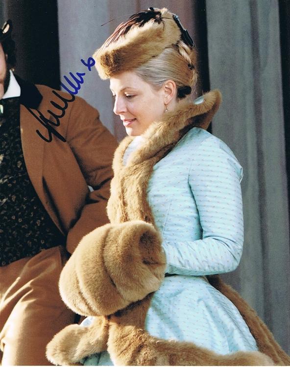 Anastasia Griffith Signed Photo