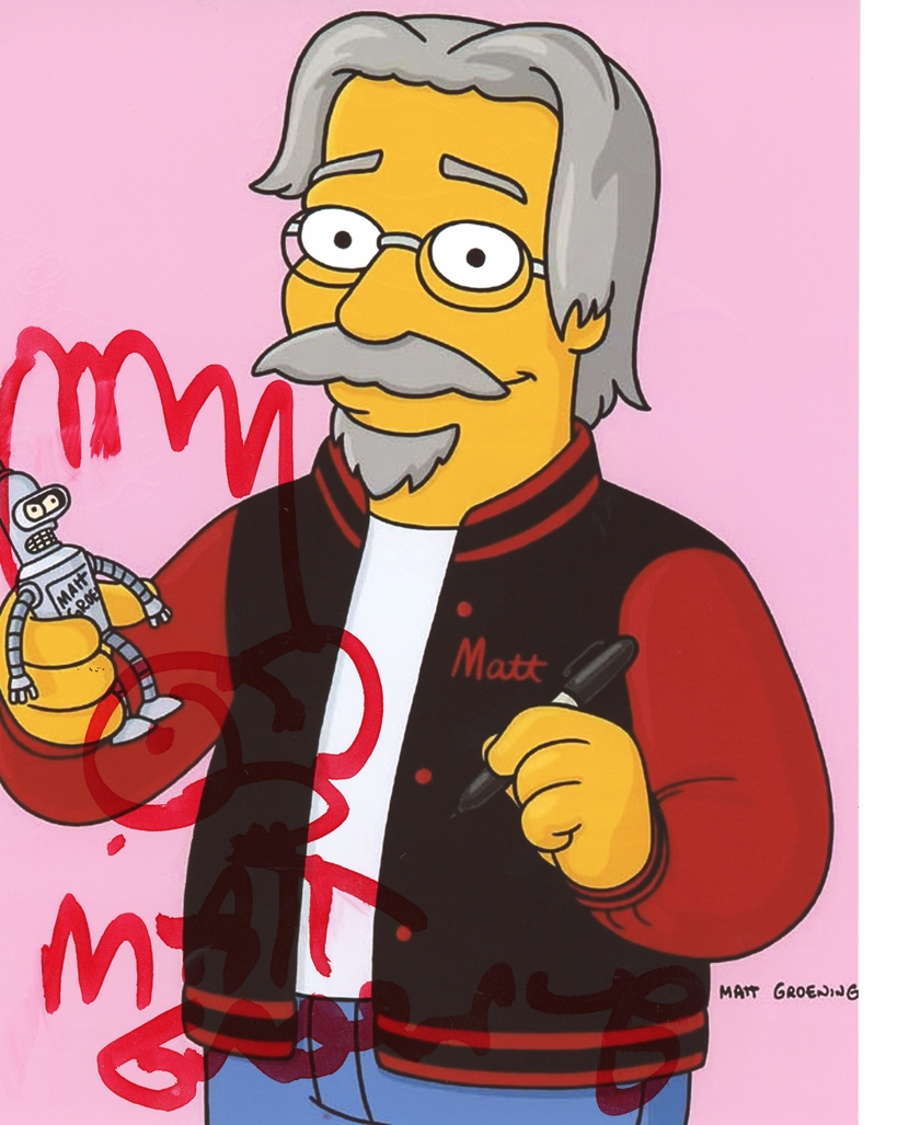 Matt Groening Signed Photo