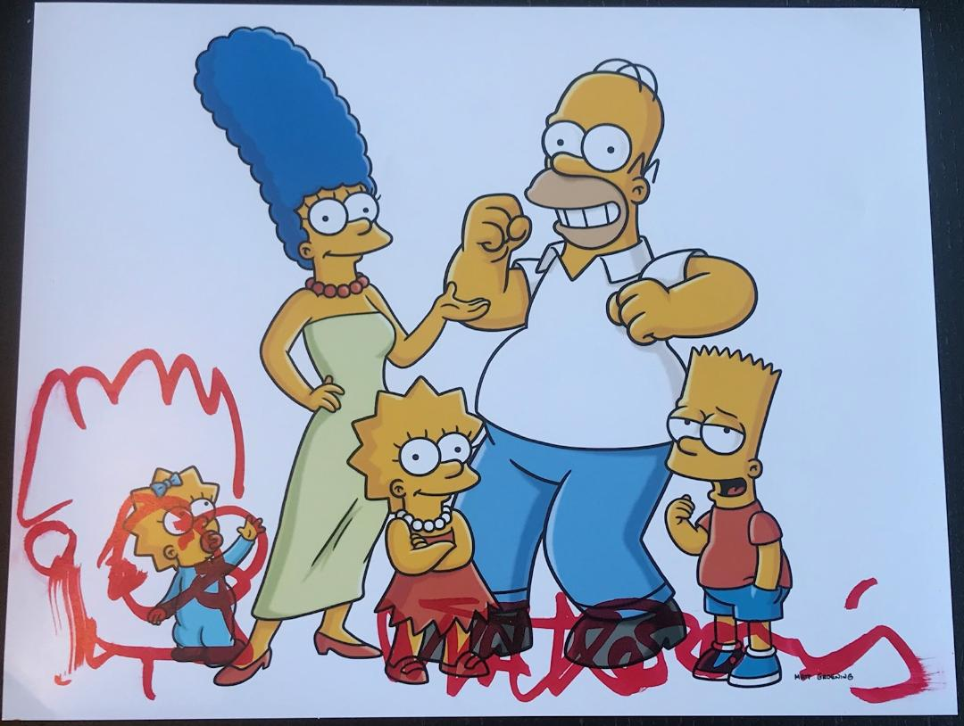 Matt Groening Signed 11x14 Photo