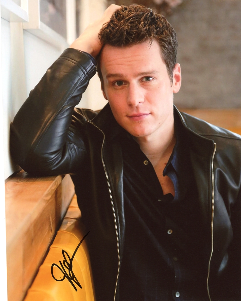 Jonathan Groff Signed Photo