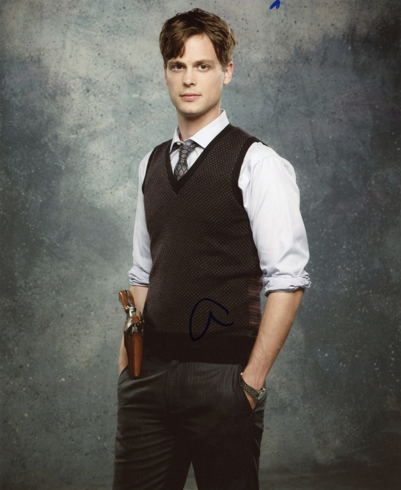 Matthew Gray Gubler Signed Photo