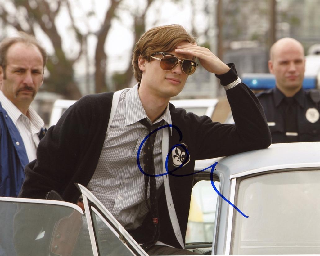 Matthew Gray Gubler Signed Photo