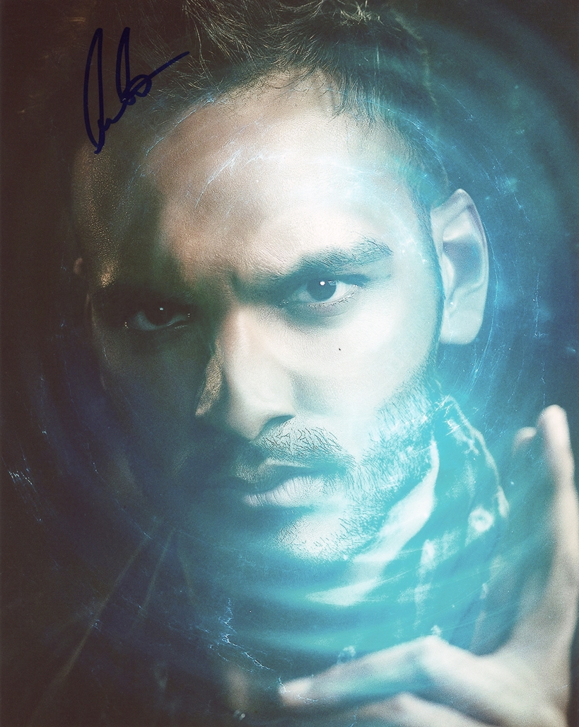 Arjun Gupta Signed Photo