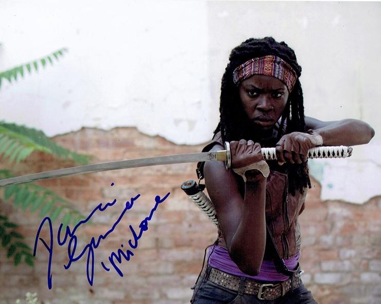 Danai Gurira autograph