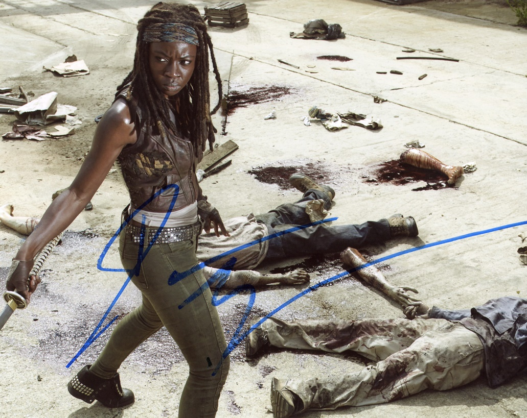 Danai Gurira Signed Photo