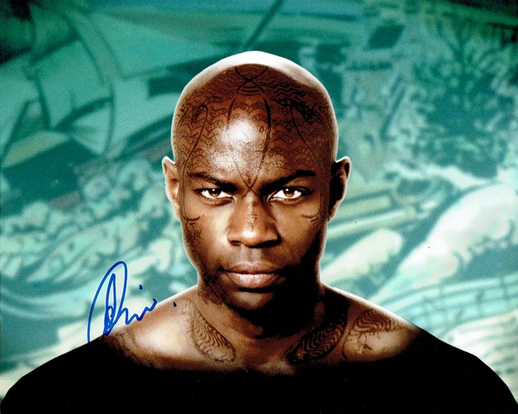 David Gyasi Signed Photo