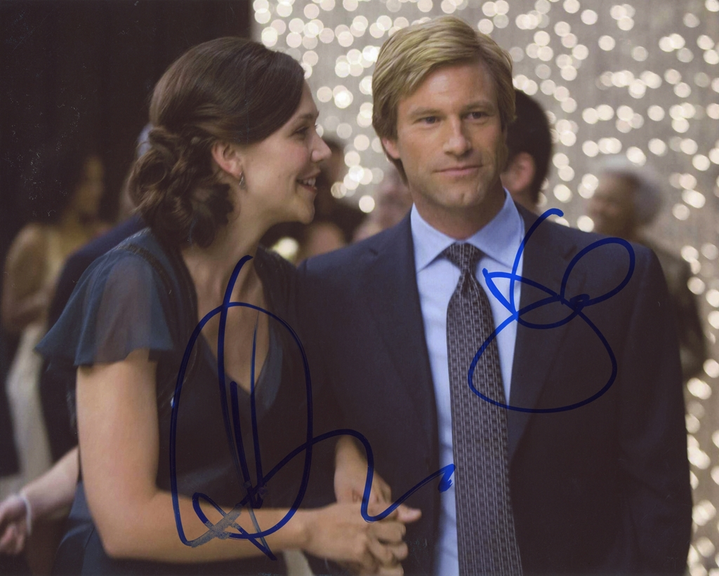 Maggie Gyllenhaal & Aaron Eckhart Signed Photo