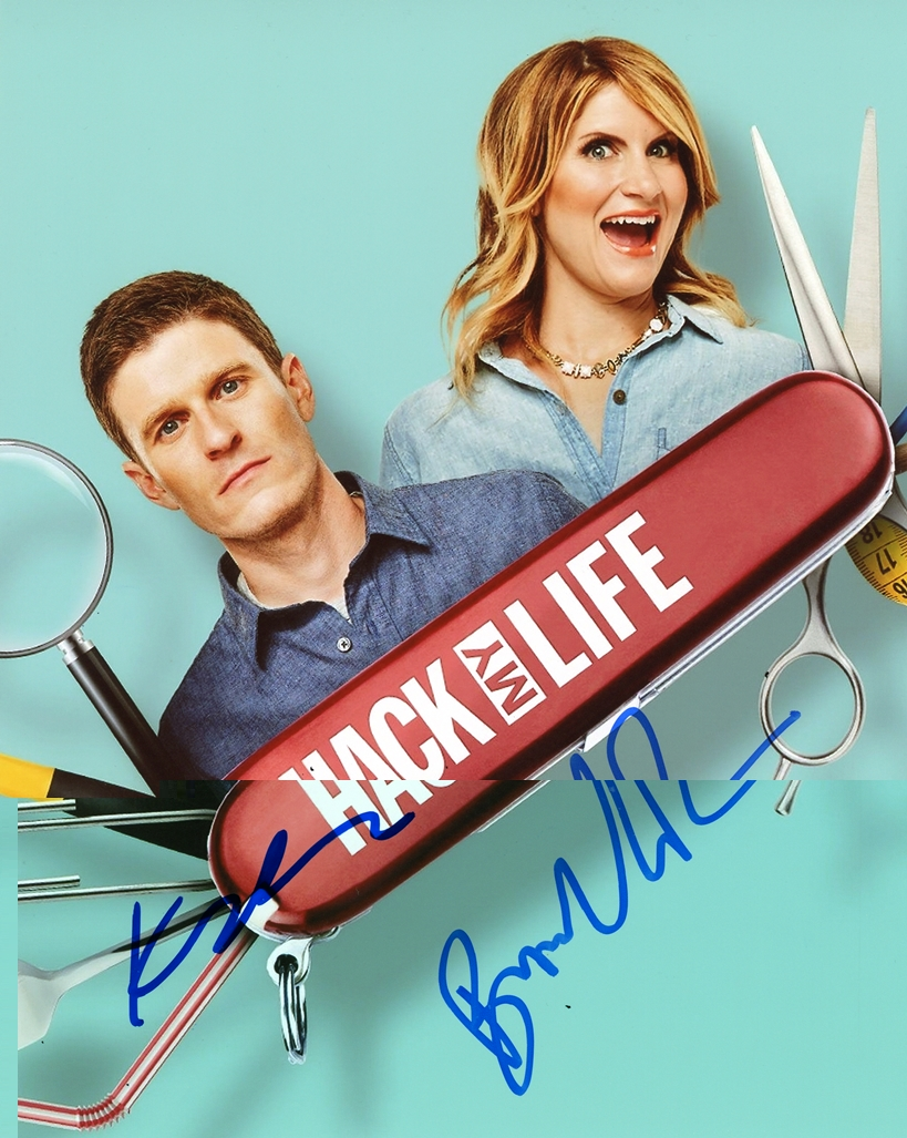 Brooke van Poppelen & Kevin Pereira Signed Photo
