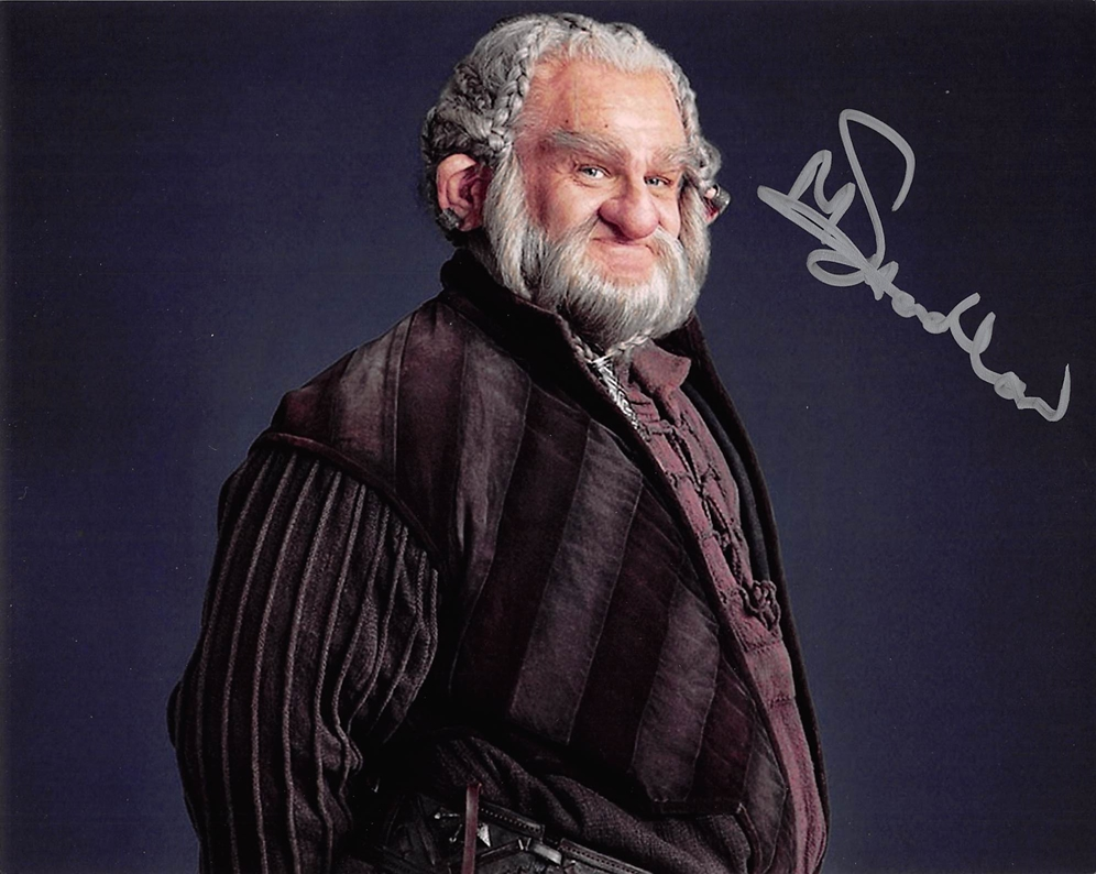 Mark Hadlow Signed Photo