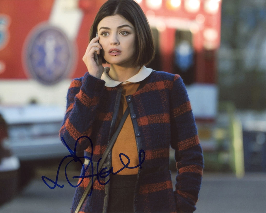 Lucy Hale Signed Photo