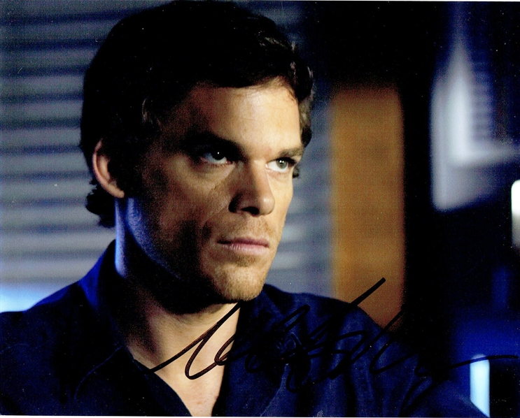Michael C. Hall Signed Photo