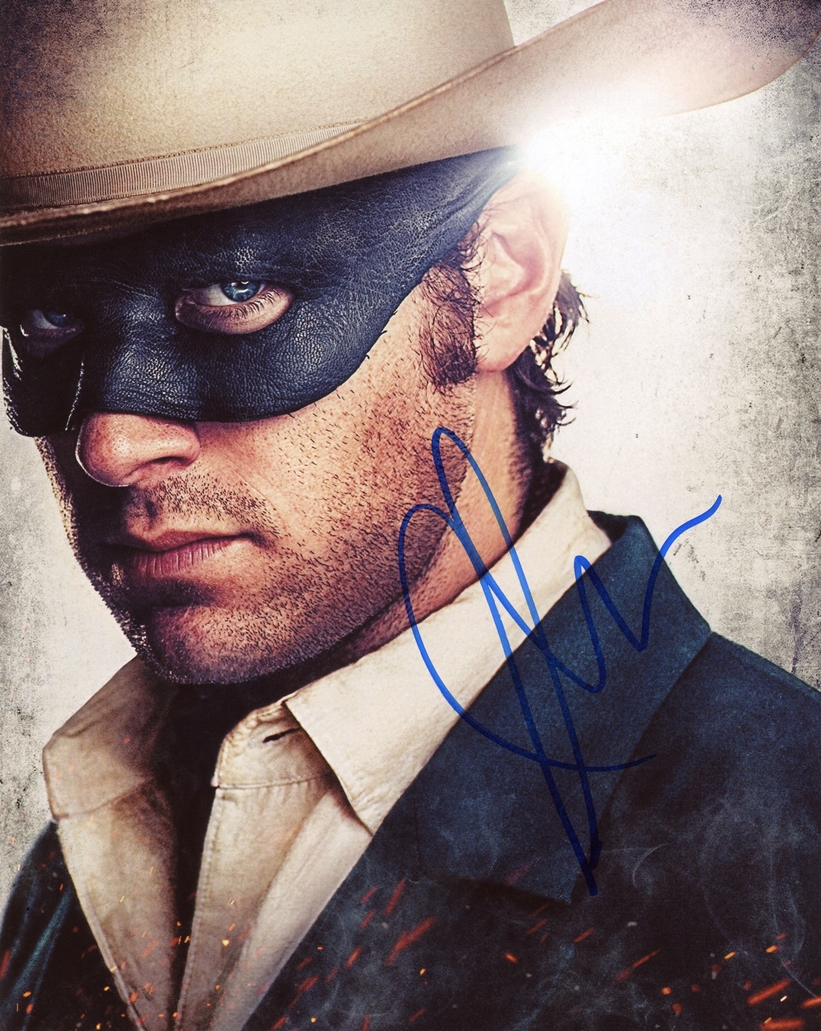 Armie Hammer Signed Photo
