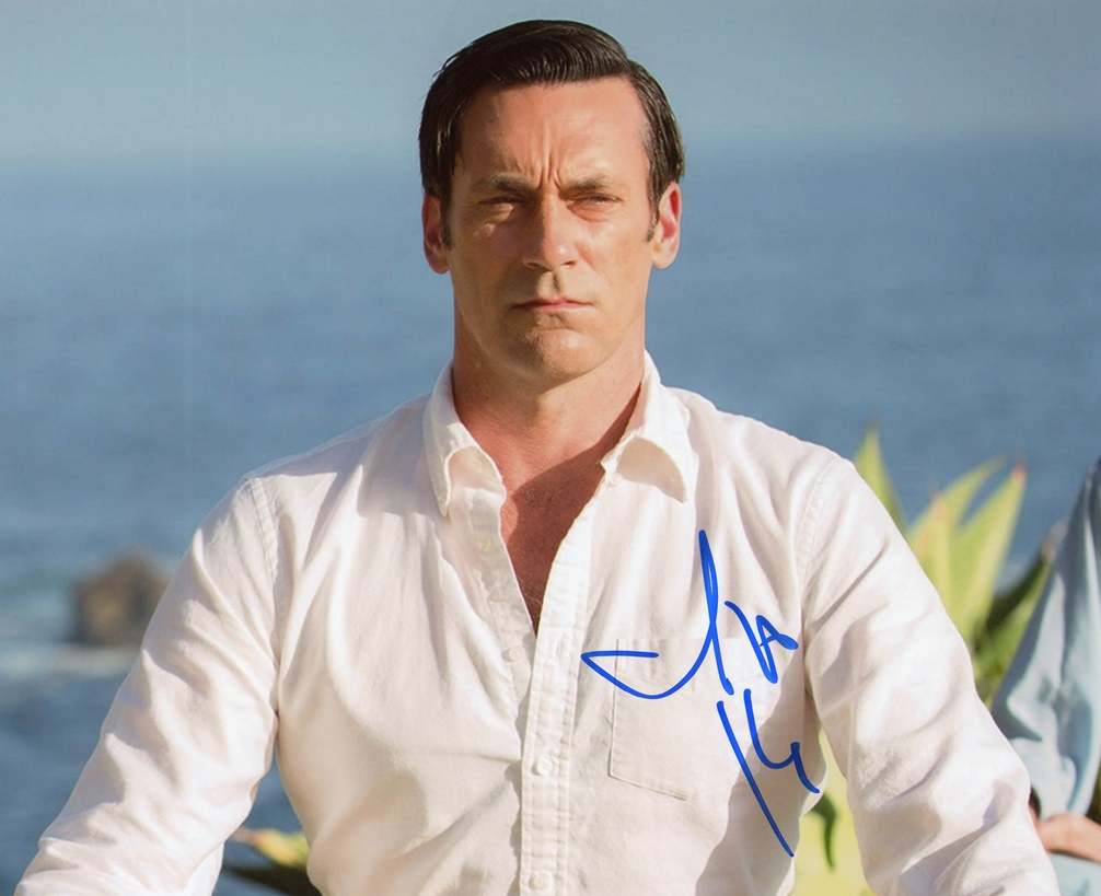 Jon Hamm Signed Photo