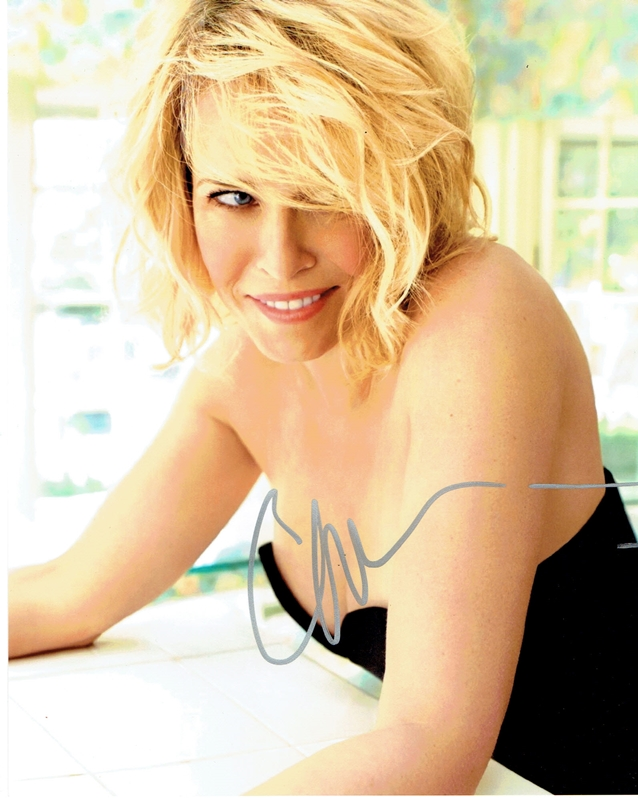 Chelsea Handler Signed Photo