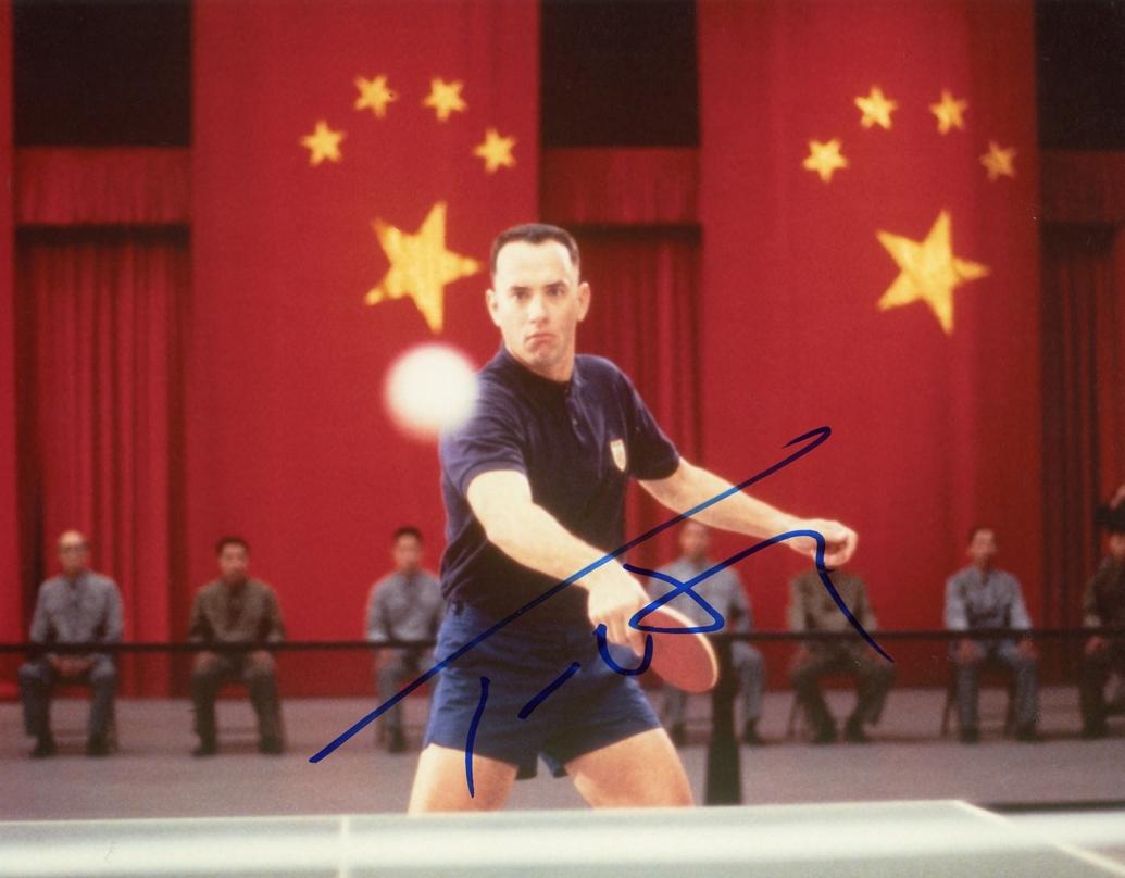 Tom Hanks Signed Photo