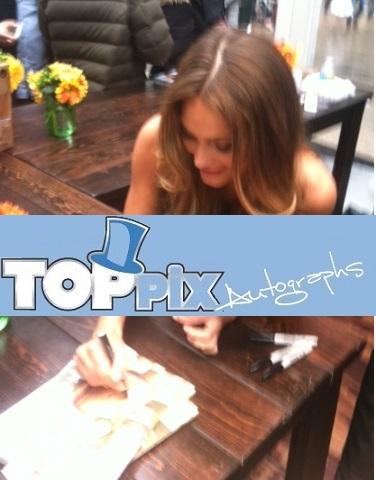 Hannah Davis Signing