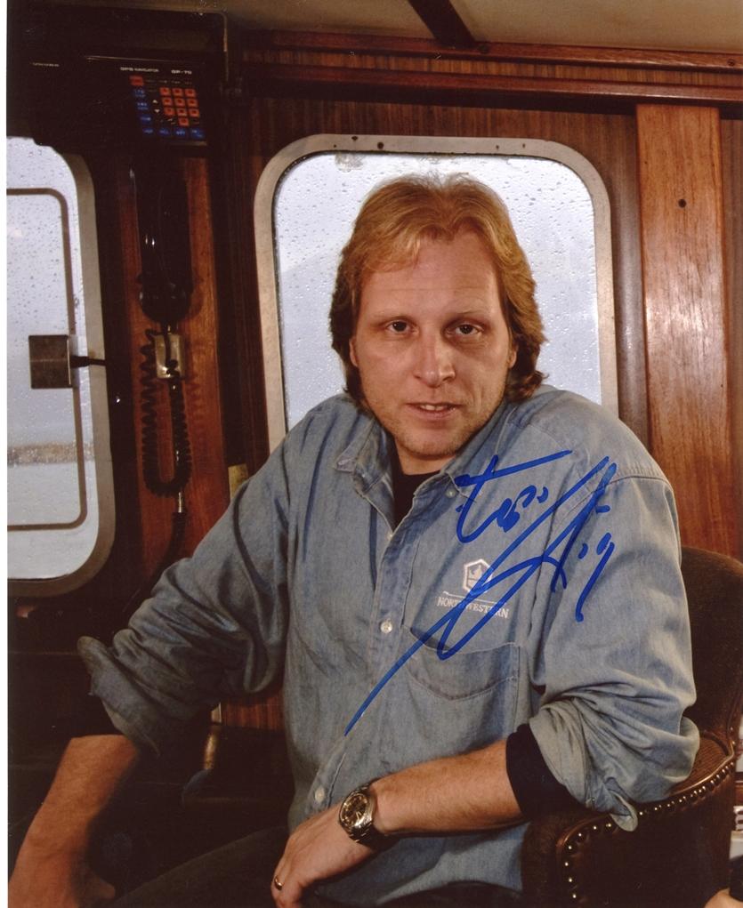Sig Hansen Signed Photo