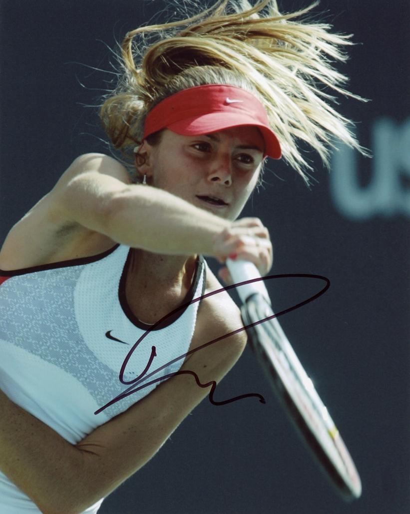 Daniela Hantuchova Signed Photo