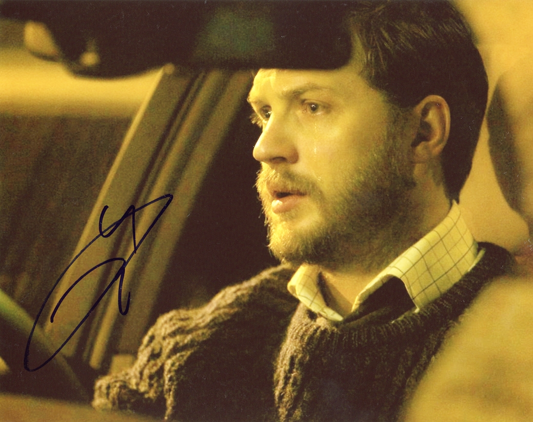 Tom Hardy Signed Photo