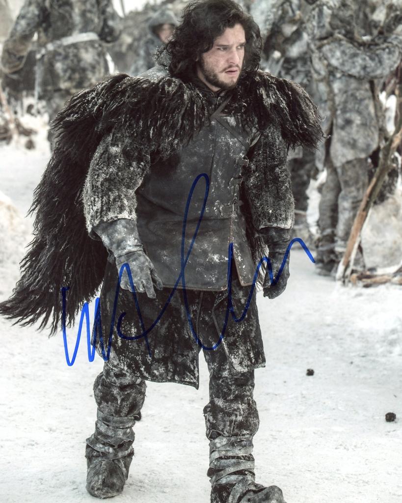 Kit Harington Signed Photo