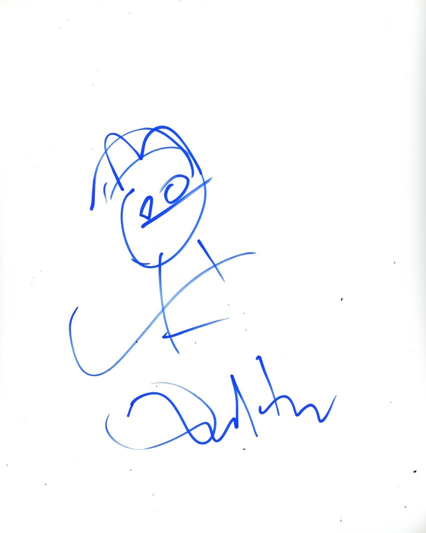 Dan Harmon Signed Photo