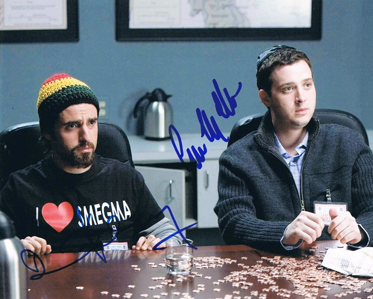 David Krumholtz & Eddie Kaye Thomas Signed Photo