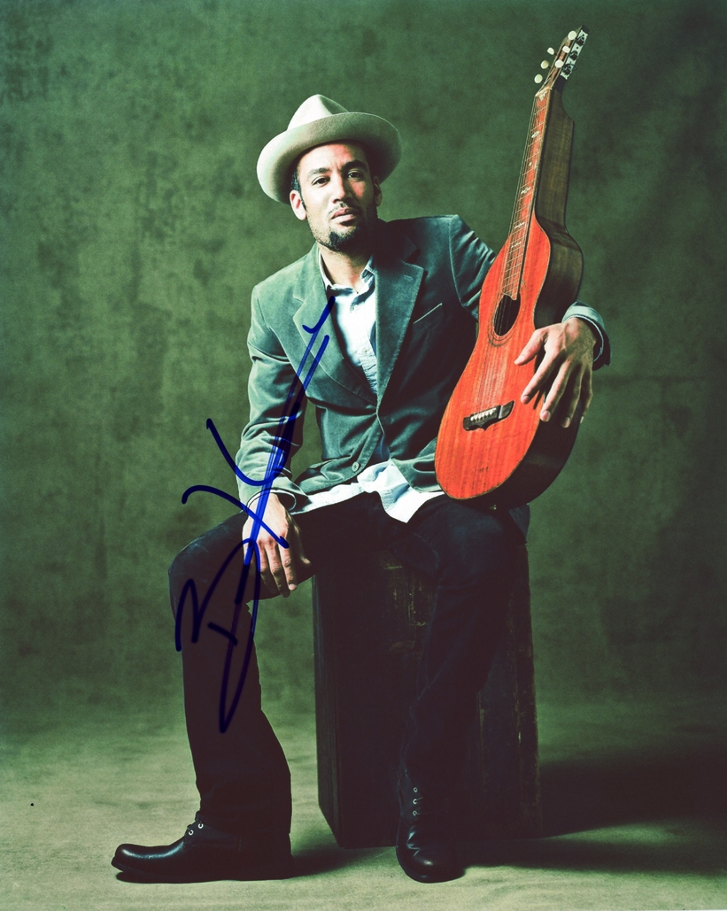 Ben Harper Signed Photo