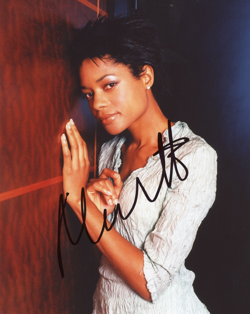 Naomie Harris Signed Photo