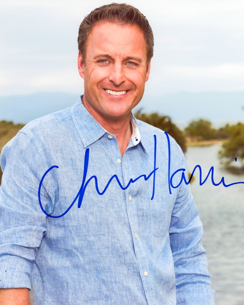 Chris Harrison Signed Photo