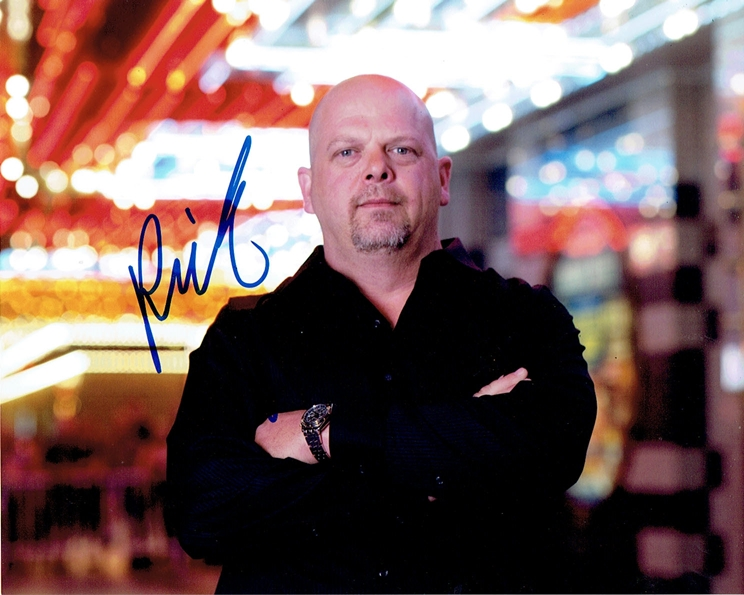 Rick Harrison Signed Photo