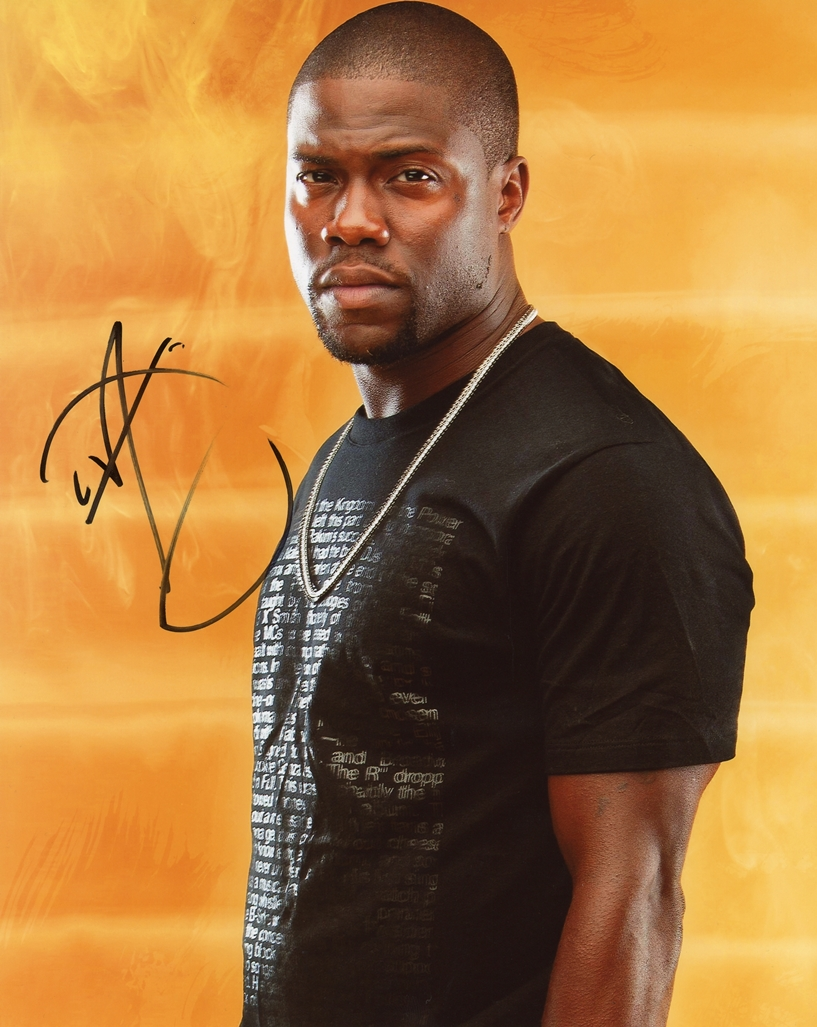 Kevin Hart Signed Photo
