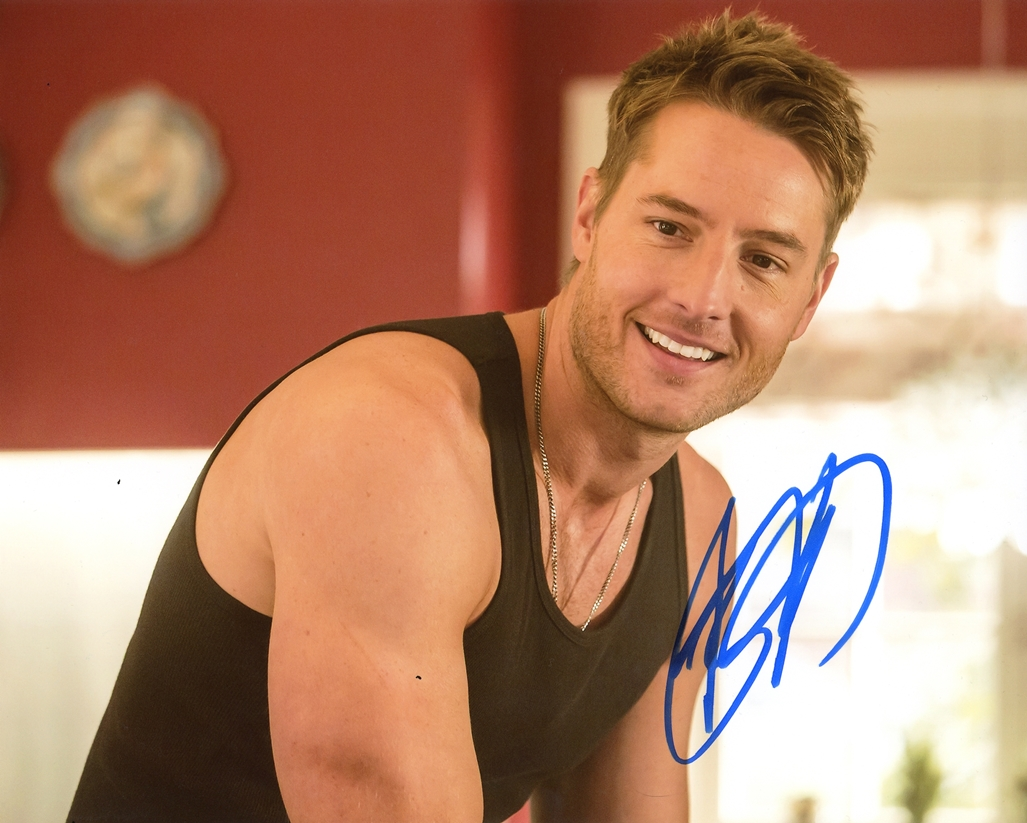 Justin Hartley Signed Photo