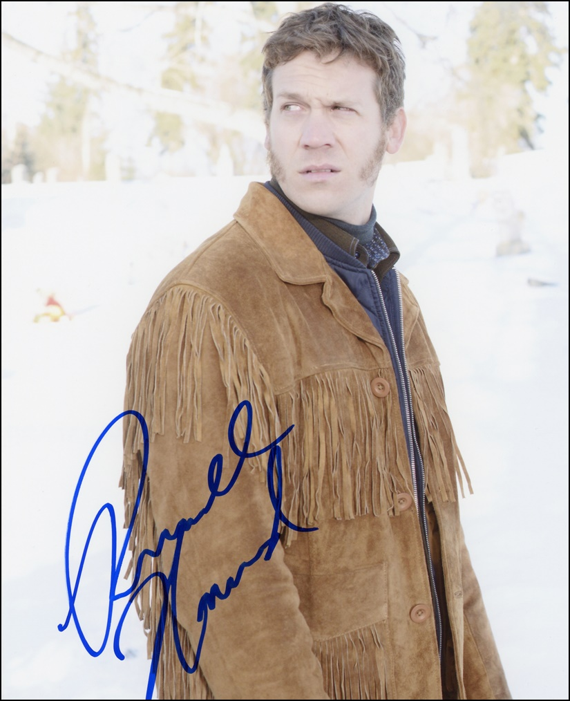 Russell Harvard Signed Photo