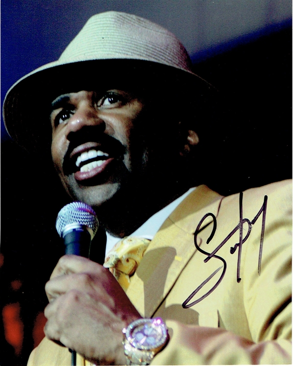 Steve Harvey Signed Photo