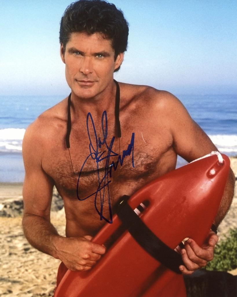 David Hasselhoff Signed Photo