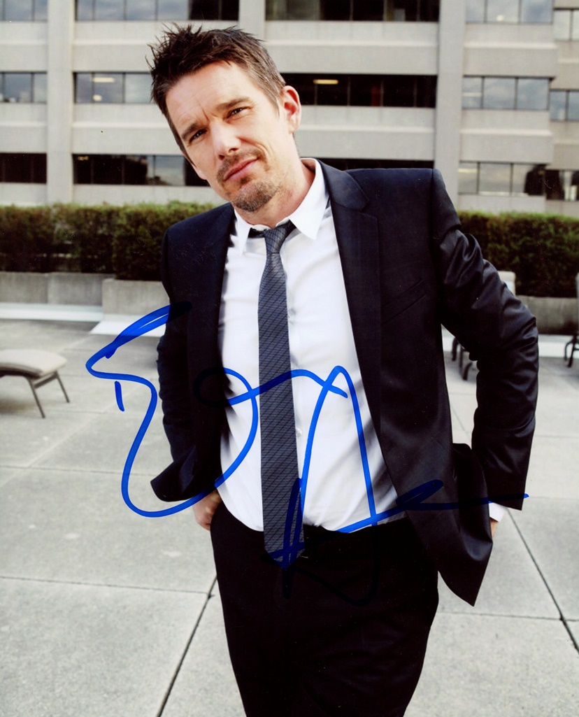 Ethan Hawke Signed Photo