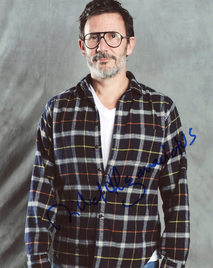 Michel Hazanavicius Signed Photo