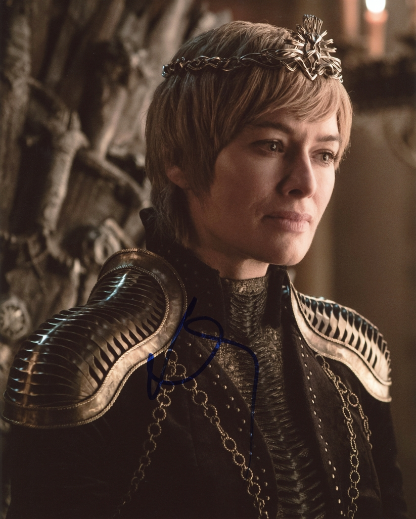 Lena Headey Signed Photo