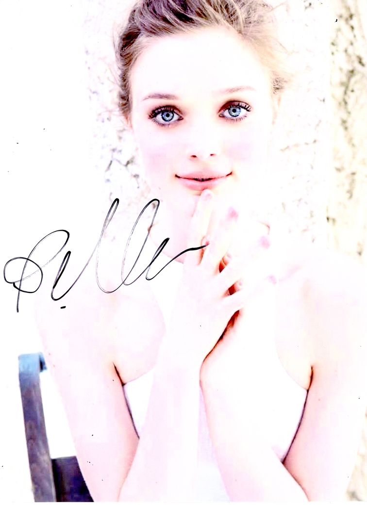 Bella Heathcote Signed Photo