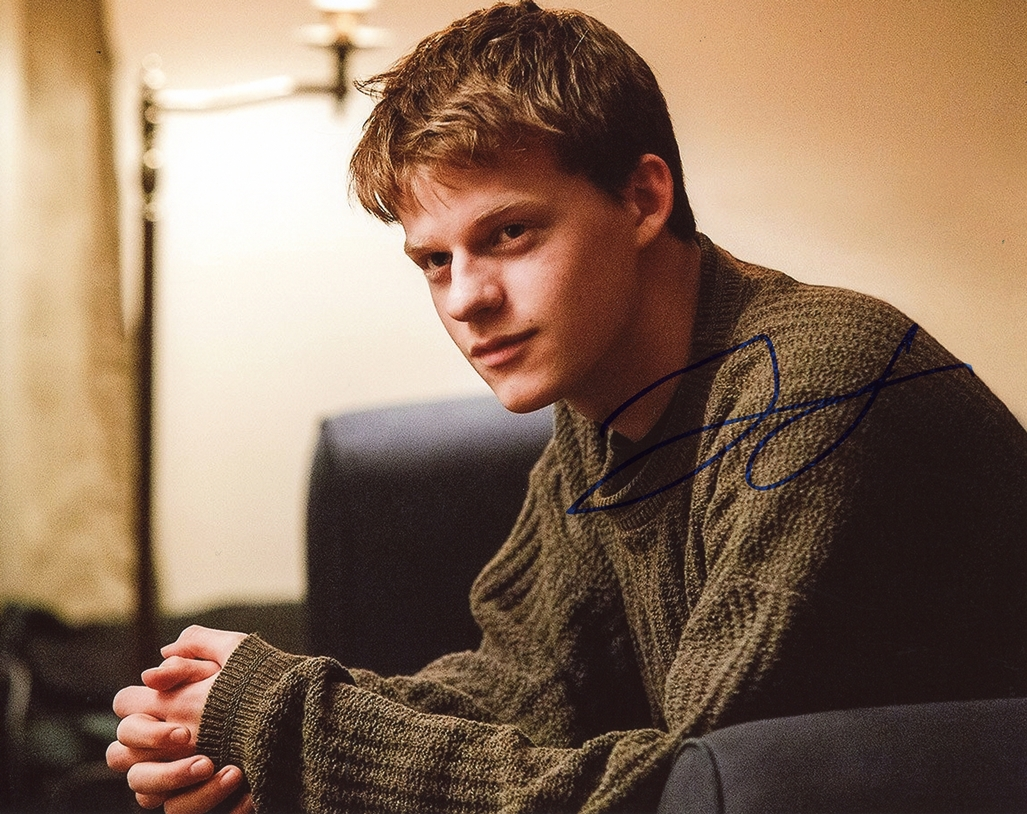 Lucas Hedges Signed Photo