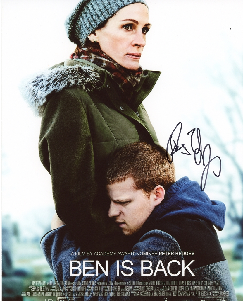 Peter Hedges Signed Photo
