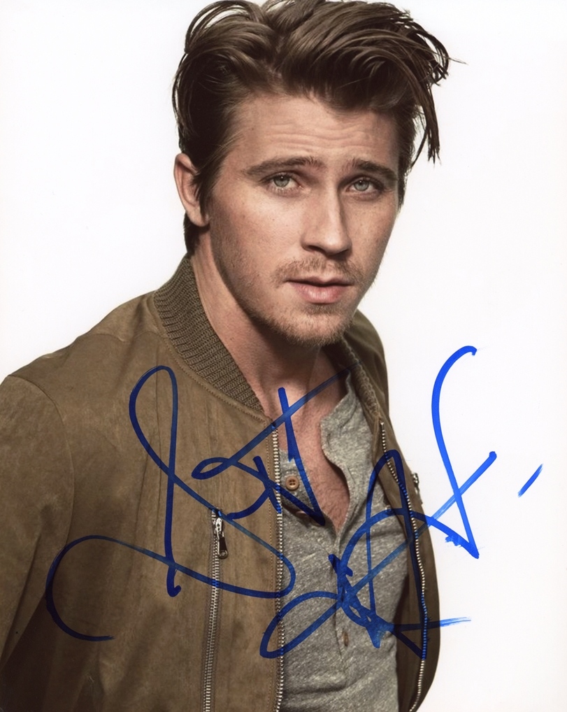 Garrett Hedlund Signed Photo